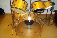 Vintage USA maple drum set a vendre.