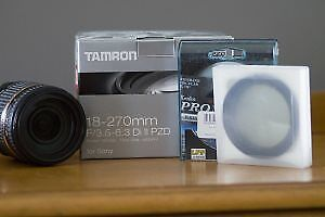 Tamron 18-270mm for Sony Alpha (A mount)