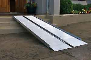 Wheelchair ramp - Aluminum - All Sizes available $50.00/foot