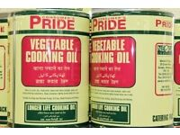 **WANTED** USED VEGETABLE COOKING OIL