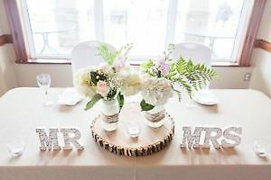 RUSTIC WEDDING DECORATIONS $150 for ALL. MUST GO THIS WEEK