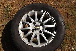 195/55/15 Tires On Rims