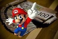 WANTED (I PAY CASH) NES ,SNES , N64 , game boy ect