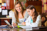In-home tutoring - All Subjects - All grades