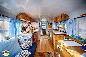 Wanted ASAP: Beautiful hand crafted conversion school bus