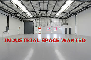Looking to sublease industrial space