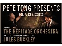 4 x Pete Tong Presents Ibiza Classics standing tickets Manchester Arena Friday 2nd December