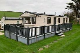 Caravan for sale Newquay Mobile Home 3 Bedroom Cornwall Holidays