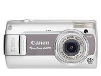 Canon A470 Camera