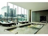 AMAZING BRAND NEW STUDIO IN WEST TOWER,PAN PENINSULA,CANARY WHARF.AVAILABLE NOW!CALL TO VIEW!