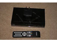 Bush Free Sat Box £10 complete with remote and power lead