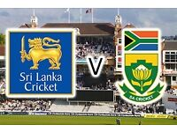 ICC Champs Trophy: 4 x Tickets to Sri Lanka vs South Africa @ The Oval