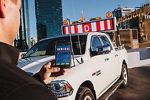 Digital Pilot Truck Sign - Color