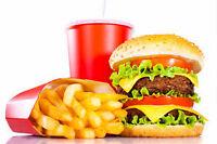 Cuisinie/Service demandé Fast food