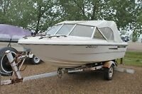 1976 Campion boat with trailer..