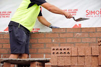 WANTED- LOOKING FOR BRICK LAYING CREW - work immediately