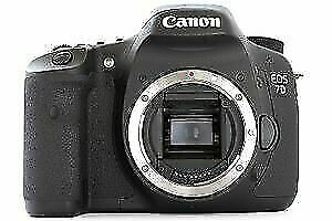Canon professional 7d camera body