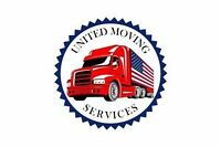 UNITED MOVING SERVICES 12FT TRUCK PLUS 2 MOVERS