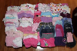 Vêtements 6 mois Fille (environ 90 morceaux) - DaisyBaby