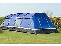 Hi Gear Kalahari 10 man family tent with 4 bedrooms