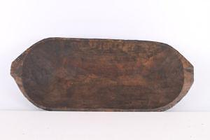 Old Fashioned Wooden Bowls