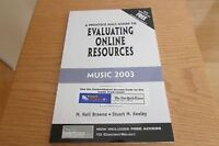 A Prentice Hall Guide to Evaluating Online Resources