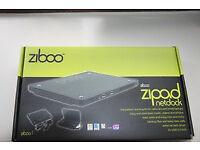 NEW Ziboo DVD/RW External Drive with 320gb Storage for Laptops, netbooks etc
