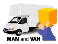 Man and van removal services 24/7 Glasgow Greenock Paisley