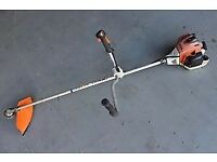 STIHL fs240 professional heavy duty brush cutter - strummer trimmer & 2 x brand new STIHL harness's