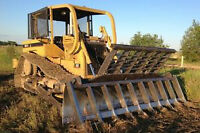 TREE AND STUMP BRUSHING/CLEARING DOZER SERVICES