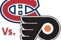 CANADIENS vs FLYERS ( Friday-Vendredi 19feb) CHEAP TICKETS