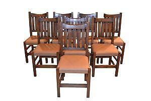 Mission Oak Dining Chairs