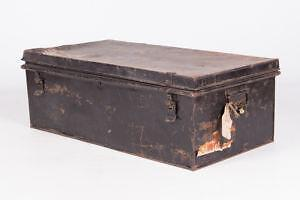 Antique Military Trunks