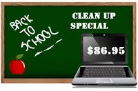 Back to School Computer Clean Up Special!!