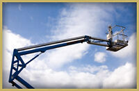 Aerial Bucket Truck For Hire