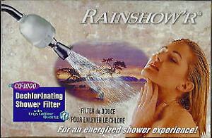 Shower Filter Dechlorinator • Water Filters • Porcelain Crock