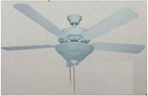 "Bridgenorth Home Hardware Banvil 2000 Star Light 52"" Ceiling Fan/Light"