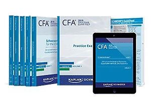 CFA 2019 Level 2 Package - Latest Schweser PDFs and more