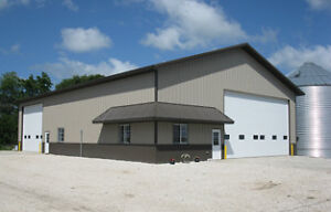 50' x 80' - 18' Deluxe Studwall Insulated Turn Key Shop Edmonton Edmonton Area image 1