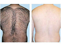 MALE BACK WAXING £25 - qualified therapist professional service