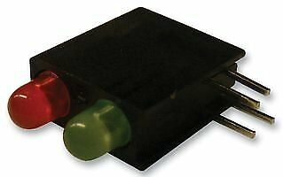 DIALIGHT - 553-0121F - INDICATOR, LED PCB, 2-LED, RED / GREEN,15PK