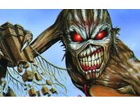 2 tickets - Iron Maiden Birmingham 21 May 2017 £35 each