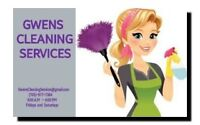 GWENS CLEANING SERVICES