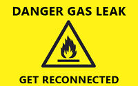 GAS FITTER,ENBRIDGE RED TAG, CALL FRANKLIN    416  890-3367