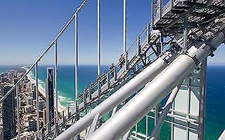 SKYPOINT GOLD COAST Q1 DAY SESSION CLIMB TICKETS FOR 2 ADULTS + *