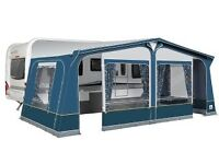 Dorema awning with annex & groundsheet size 13