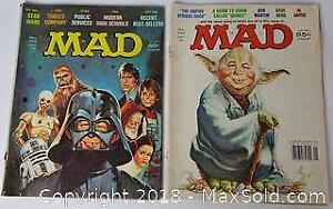 Star Wars Themed MAD Magazine Lot Of 2