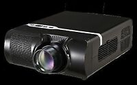 QUANTUM 1080P PROJECTOR WITH SCREEN AND ALL ACCESSORIES