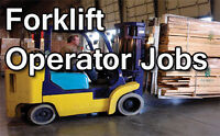 Hiring Reach Operators AND Forklift Operators / Great Pay!