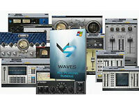 LATEST WAVES COMPLETE PLUG-IN BUNDLE 9.9 MAC/PC